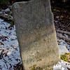Old gravestone.