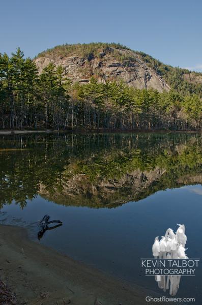 White Horse Ledge Reflection from Echo Lake 1.