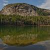 White Horse Ledge Reflection from Echo Lake 5.