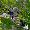 On the White Cairn Trail.