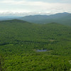 View south across Deer Hill from Blueberry Mountain in Evans Notch.