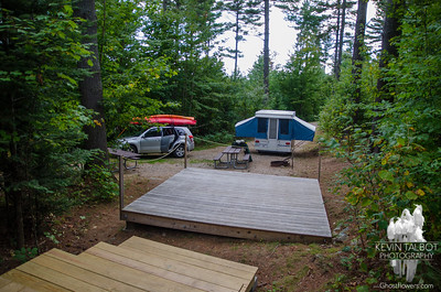 Camping at Milan Hill State Park 9/15-18/14