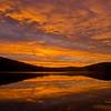Sunrise Thursday morning on Little Diamond Pond.
