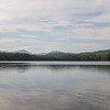 Whiteface, Passaconaway, Paugus and Chocorua rise above the northern shore of White Lake.