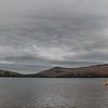 Gray skies at South Pond.