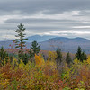 View to Northern Presidentials from our yurt.
