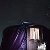 Cozy yurt...