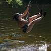 Is it a Tarzan or a Jane when a girl swings on a rope  swing?