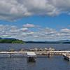 Docks at Umbagog Lake State Park.