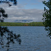 First glimpse of White Lake Sunday morning.