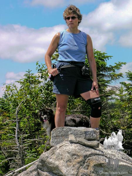 Hiking partners.