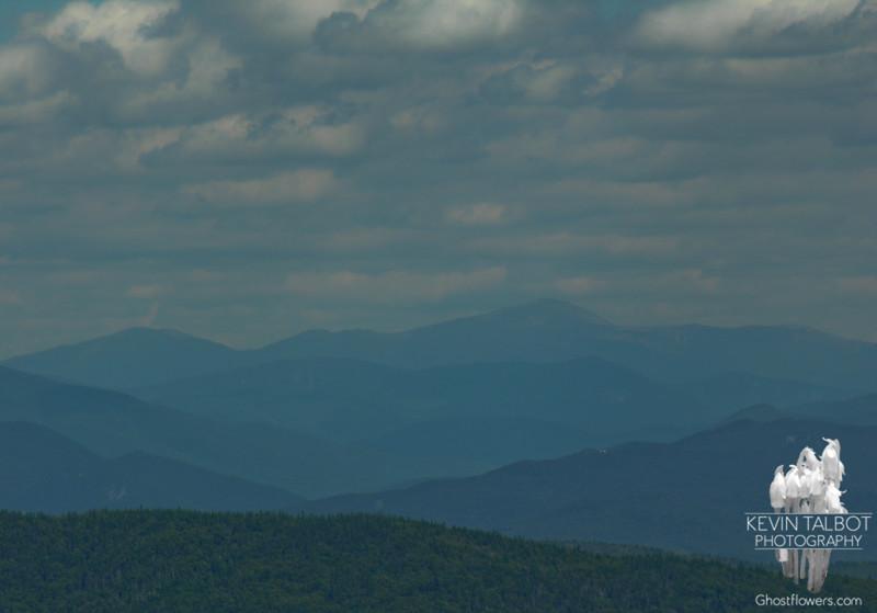 To our northeast Mounts Jefferson, Clay and Washington on the horizon.