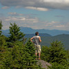 From this vantage point I can see dozens of the White Mountains to my east. JT