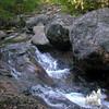 Mossy cascades on Nineteen Mile Brook.