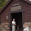 At the Jim Liberty Cabin.