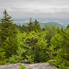 Looking at Squam Lake from Mount Squam...