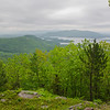 View from the short spur path to the summit of Mount Webster...