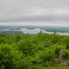 Views of Squam Lake and Red Hill from Mount Livermore...
