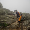 On the way to Mount Lafayette.