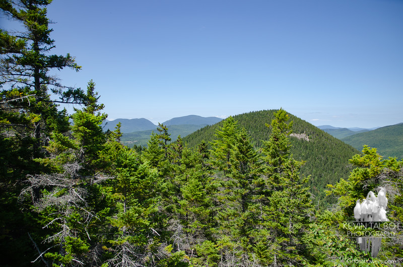 North towards Carter Notch, North Doublehead center...