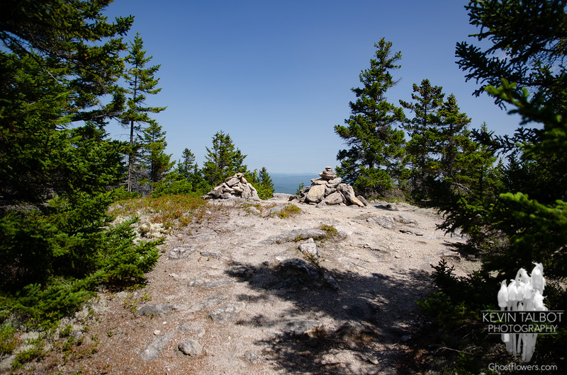 South Doublehead Double Summit Cairn...