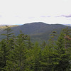 First views to the east and Speckled Mountain as we rise above treeline on the East Royce Trail.