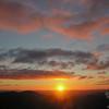 Sunrise. Temperature 36 degrees.