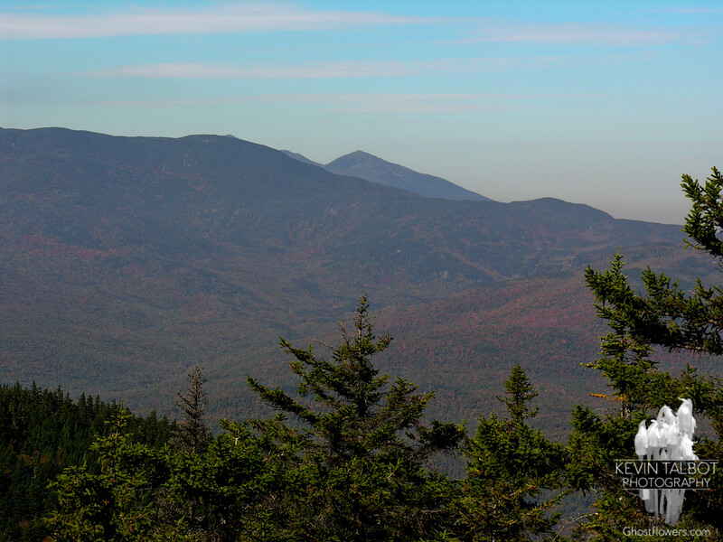 Mount Madison peeks over North Carter as seen from East Royce.