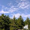 Beautiful wind sheared cirrus clouds.