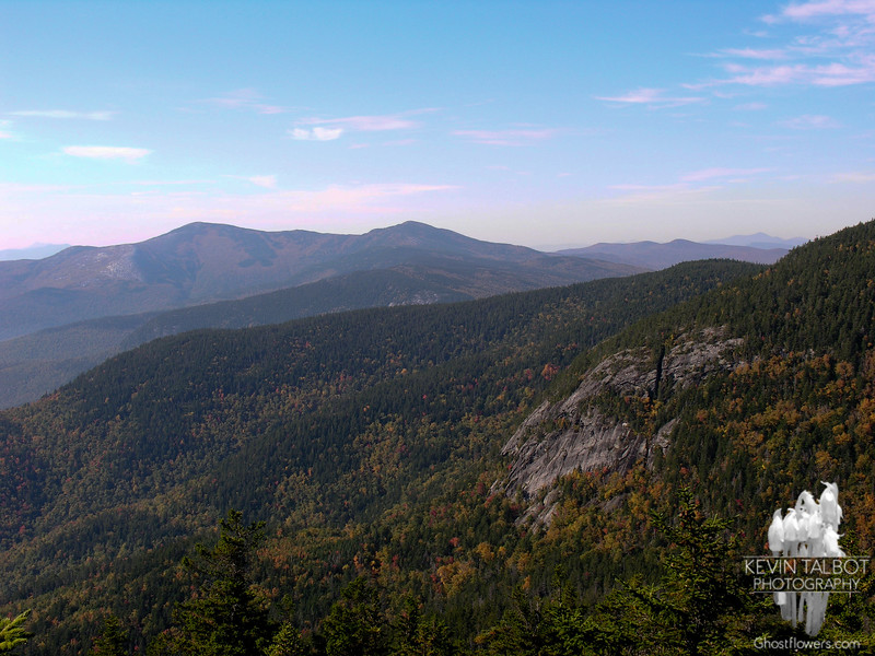 Cliffs on West Royce. South Baldface (L) and North Baldface (R).
