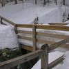 Still pretty good snow-depth despite warming.