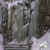 Nice ice pillars in the gorge...