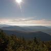 Southwest towards the Dartmouth Range.