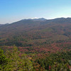 The view to Mount Chocorua.