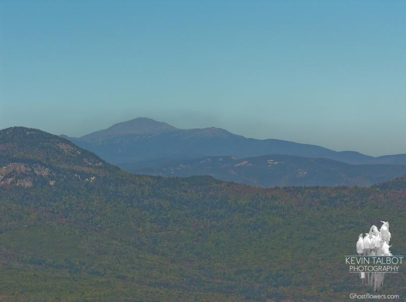 Mount Washington rises over Mount Tremont.