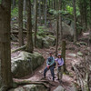 Hiking partners for the day Mike & Donna...