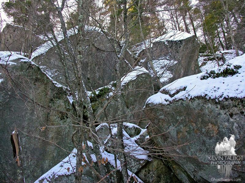 Boulders above the Devil's Den.
