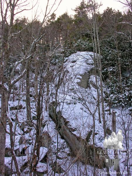 Pawtuckaway has some immense boulders.