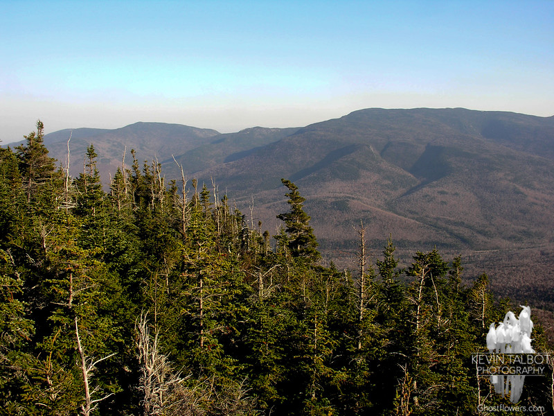View east to Mount Moriah.