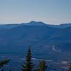 Zoom towards Mount Chocorua.
