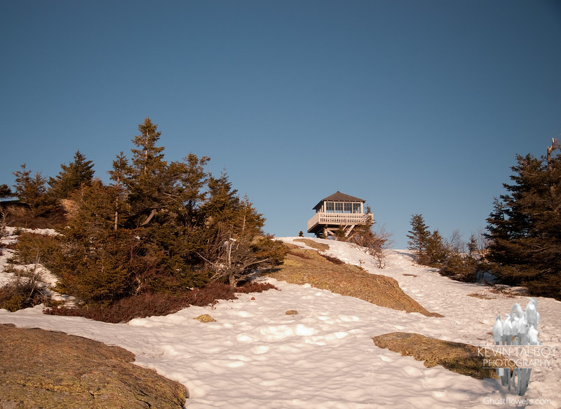 Firetower on Kearsarge North.