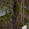 A mini gorge.