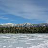 Franconia Ridge from Lonesome Lake.