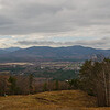 Across the Saco River Valley to Mount Chocorua and the Moat Range.