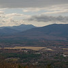 Zoomed view across the Saco River Valley to Mount Chocorua and the Moat Range.