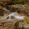 Interesting flow over the rocks.