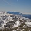Beyond Mount Jefferson to Franconia Ridge.