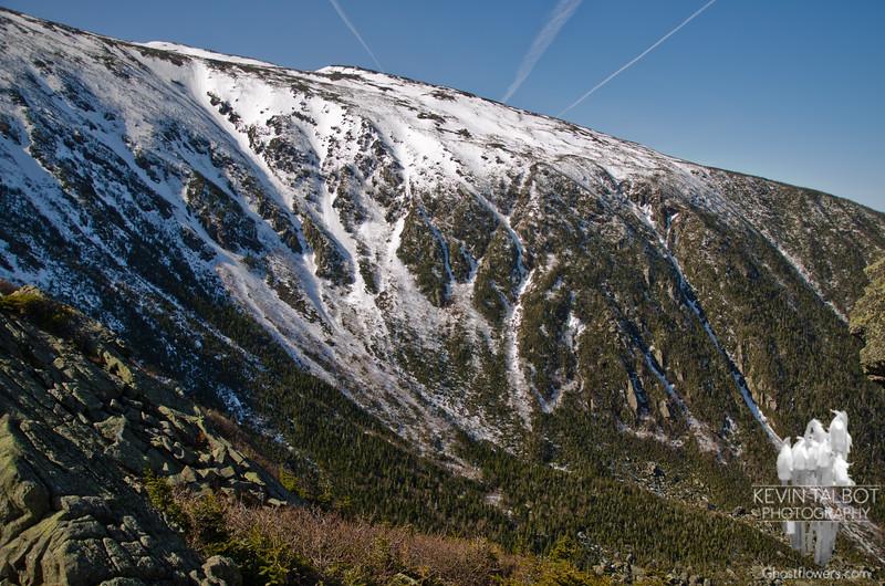King Ravine Headwall from Durand Ridge.