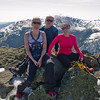 Val, Mark and Ali on Mount Adams.