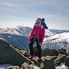 Ali reaches the summit of Mount Adams, #47 all season!